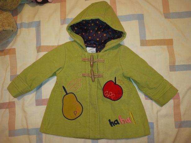 Пальто для девочки 12-18 мес