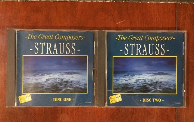 STRAUSS  The Great Composers  2xCD