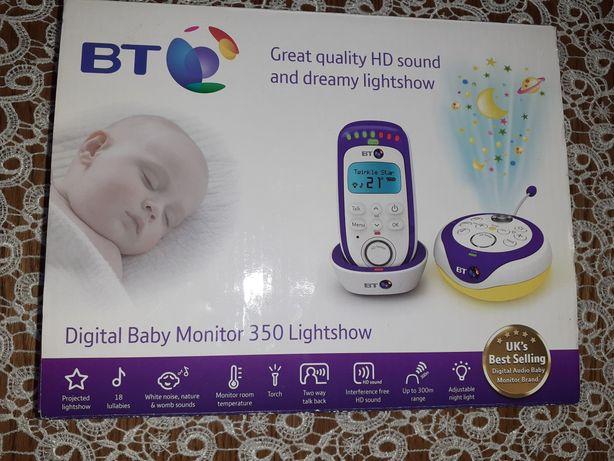 BT 350 - Cyfrowa niania Elektroniczna niania Lightshow Baby Monitor
