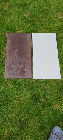 Gres szkliwiony 60x30 cm snake brązowy i bialy