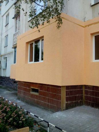 Утепление фасадов и декоративная отделка