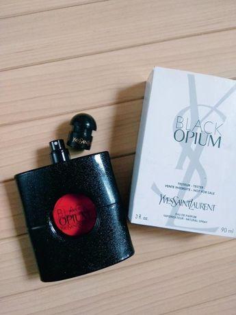 духи парфюм аромат тестер black opium от yves saint laurent / 90мл