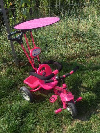 Rower rowerek dla dziewczynki