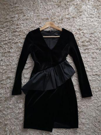 Piękna sukienka mała czarna xs s