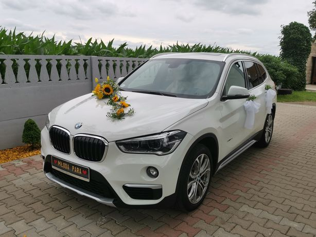Auto do ślubu BMW X1