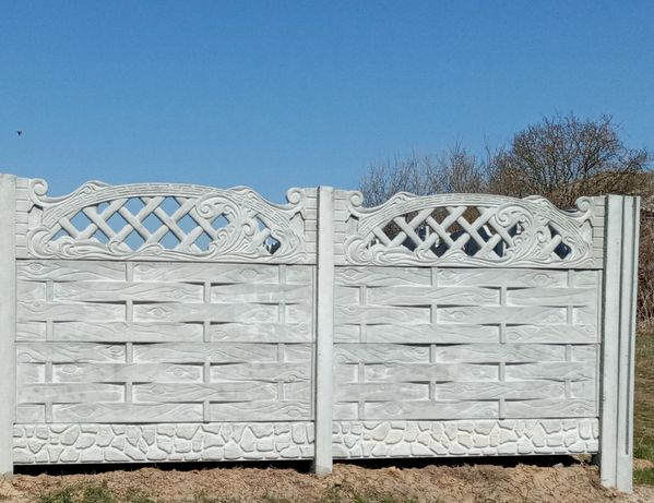 Забор бетонный, еврозабор, железобетонный
