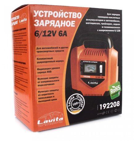 Зарядное устройство Lavita LA 192208   6 А, 6-12 В