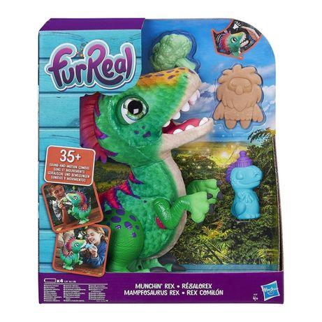 Интерактивная игрушка Fur Real Friends Динозавр Рекс