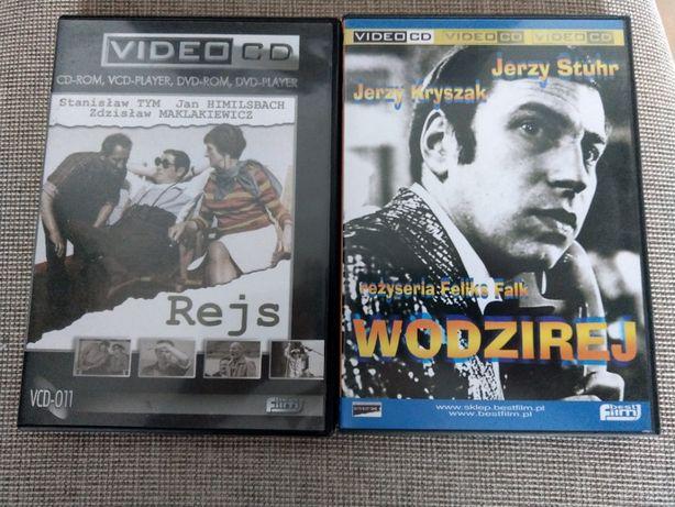 Rejs + Wodzirej Video-CD Piwowski Stuhr