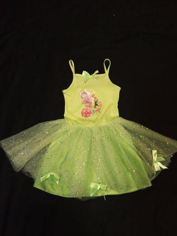 Нарядное платье DISNEY Дисней детское на 4-5 лет пышная юбка фатин