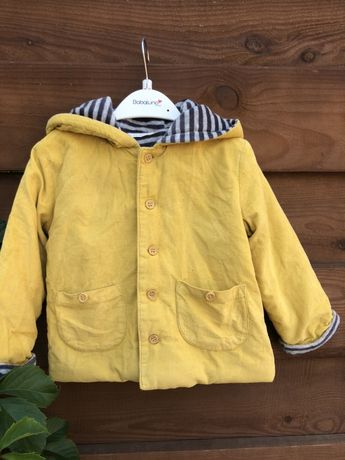 Вельветовая куртка для малыша