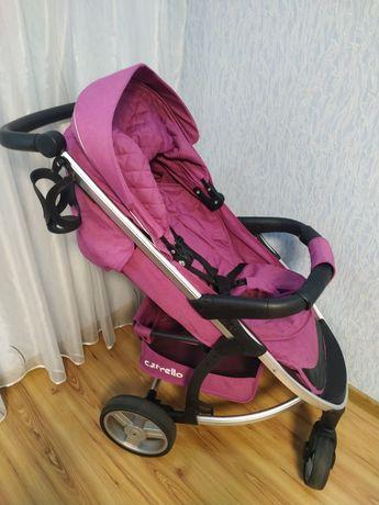 Демисезонная коляска для девочки Carello vista