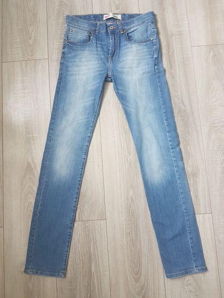 Damskie spodnie jeansy Levis 510 rozm. 16