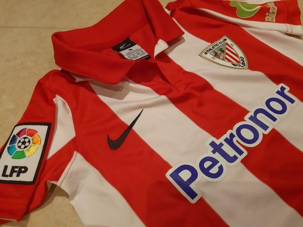 Camisola do Atlético Club Bilbao criança 6 a 8 anos Original