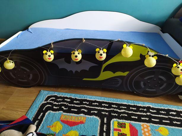 Łóżko dziecięce samochód batman