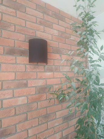 KINKIET industrial loft czarny 2 sztuki