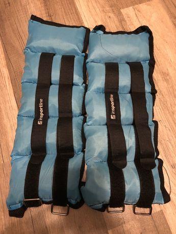 Obciążniki insportline 2 x 2kg regulowane