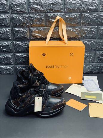 Продам нові шкіряні кросівки Louis Vuitton Lux в фірмовій упаковці Топ