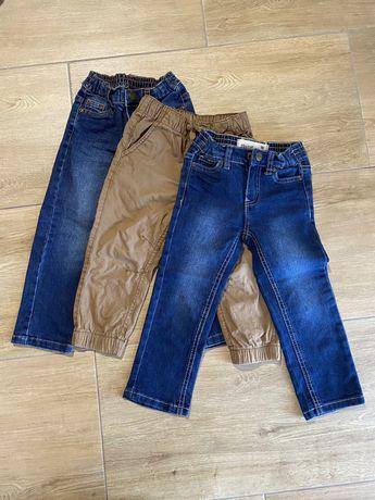 Spodnie jeansy chłopiec rozm. 98 smyk kik