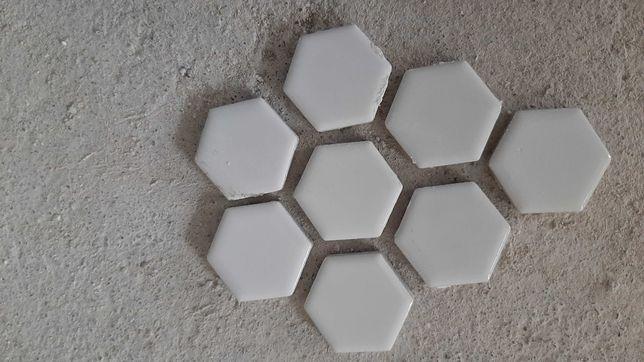 Sprzedam mozaikę, mozaika, małe płytki, ceramika, ceramiczne heksagony