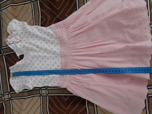 Платья 12 шт. для девочки на 3-4 годика в отличном состоянии