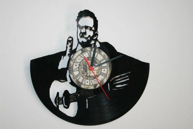Relógio de Parede em Vinil - Johnny Cash