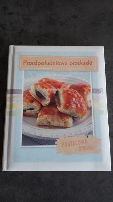 """Książka kulinarna """"przedpoludniowe przekąski"""""""
