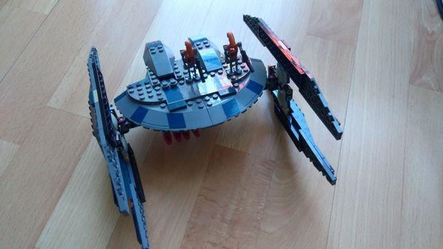 LEGO Hyena Droid Bomber, klocki lego, 8016, gwiazdka, Mikołaj, święta