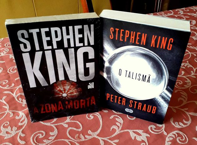 Stephen King - Talismã/Zona Morta (edição BRASIL - SUMA LETRAS)  NOVOS