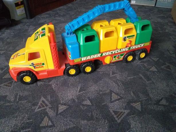 WADER  Super Truck Śmieciarka