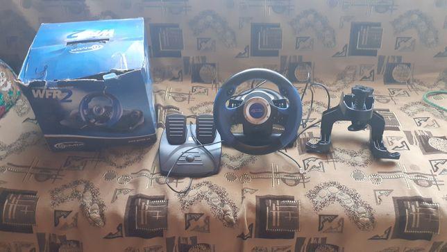 Дитячий ігровий комп'ютерний руль.