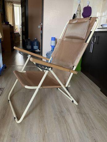 Крісло розкладне Vitan Ясень 96x58,5x102 см бежевий