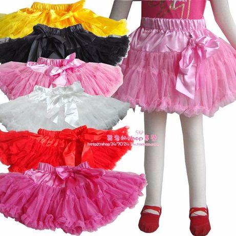 Американка нарядная юбка 100-145 для танцев