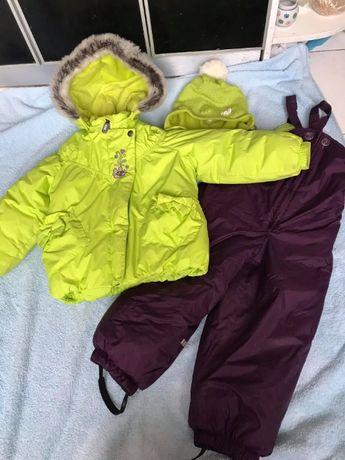 зимний комплект Лене Lenne куртка и полукомбинезон 98 и 6 костюм Ленне