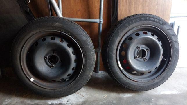 Firestone Multihawk 155/65 R14 lato 2 szt. felgi 4x100 VW Skoda Opel