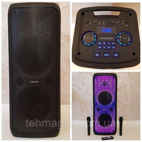 Колонка портативная с радиомикрофонами Goldteller GT-5050