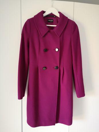 Płaszcz zimowy wełniany Bialcon