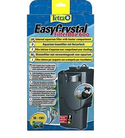 filtr wewnetrzny TETRA EASY CRYSTAL 600 od 50 do 150L W 24h