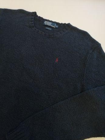 Ralph Lauren sweter gruby splot XL