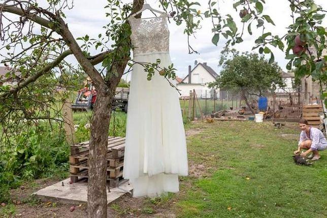 Wyjątkowa suknia ślubna zestaw