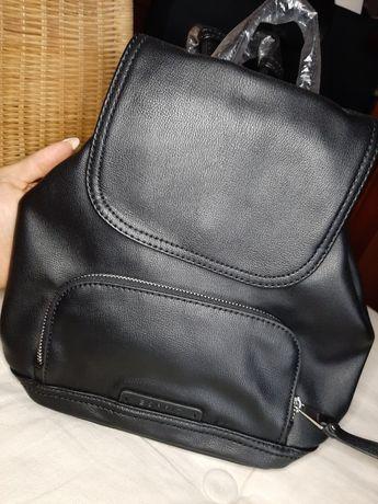 Plecak nowy Esprit mały poręczny skóra eko