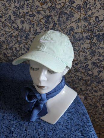 Miętowa czapka z daszkiem Nike
