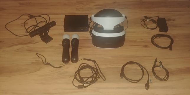 Okulary VR PS4 v2 + kontrolery PS4 Move
