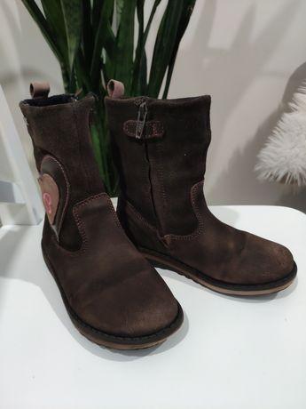 Демисезонные сапожки, ботинки, кожа, замша, ecco, Crocs, Clarks