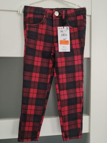 Nowe z metkami jeansy marki Reserved rozmiar 98