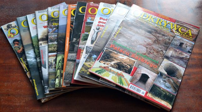Magazyn ODKRYWCA - rocznik 2007 - kompletny