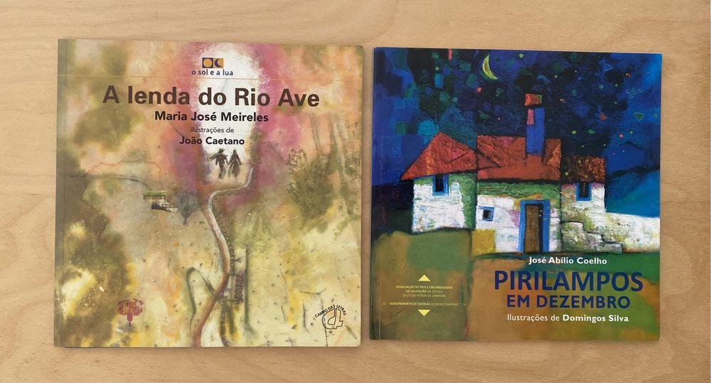 Livros - A Lenda do Rio Ave / Pirilampos em Dezembro