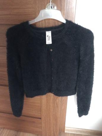 Sweter granatowy 134/140