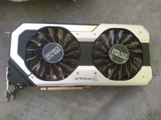 Karta graficzna Palit GeForce GTX 1060 JetStream 6GB GDDR5 (192 Bit)