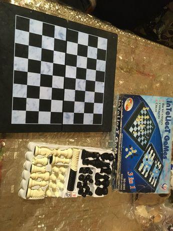 продам 3 в 1 шахматы нарды шашки